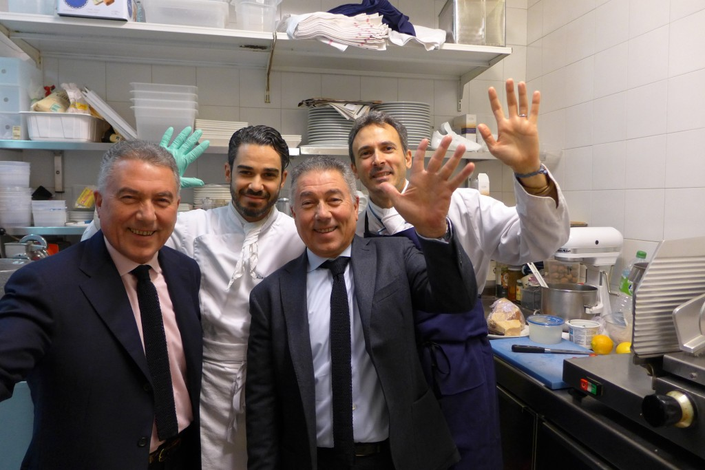 Toni, Rinaldo, Claudio, Marco Faiola © GP