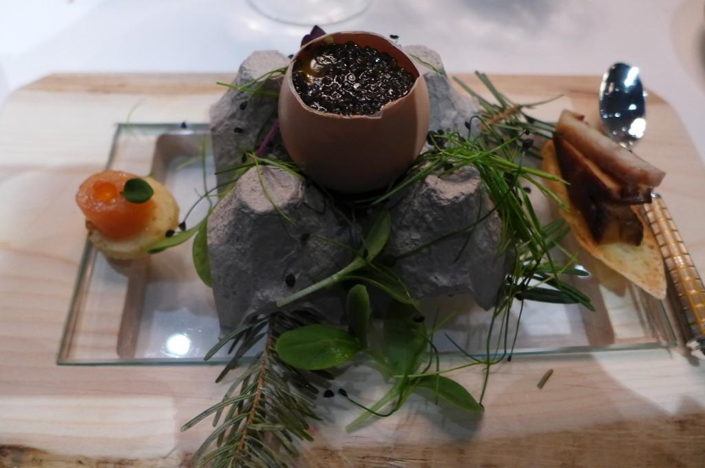 Oeuf au caviar © GP