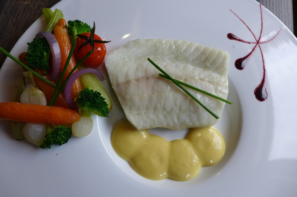 Pavé de turbot hollandaise © GP