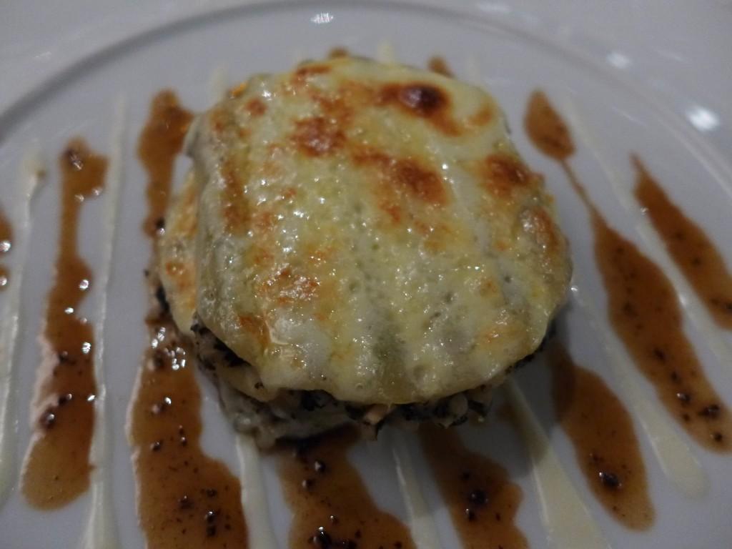 Macaroni au foie gras et céleri © GP