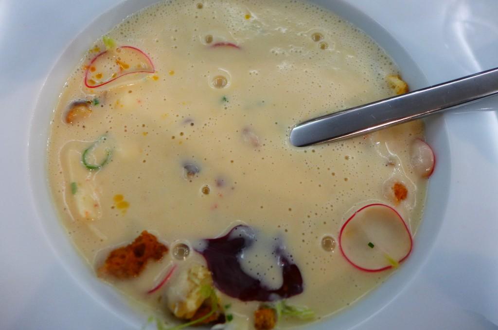 Soupe crémeuse de panais © GP