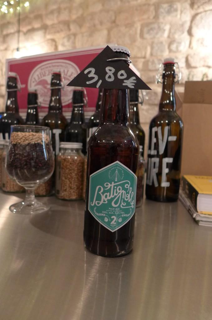 Bière Batignolle © GP
