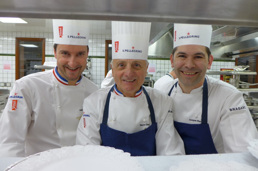 Philippe Mille, Pierre Orsi, Jacques Marcon © GP