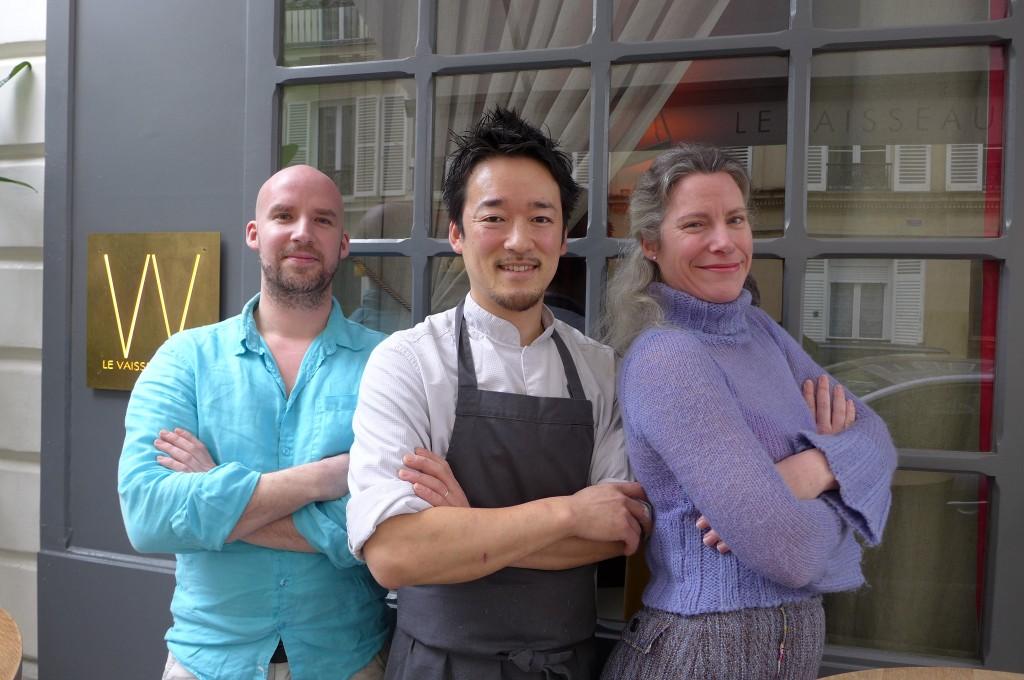 Philippe, Shin, Stéphanie © GP