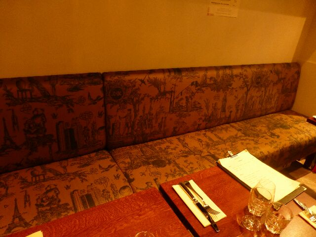 La banquette de Castelbajac © GP