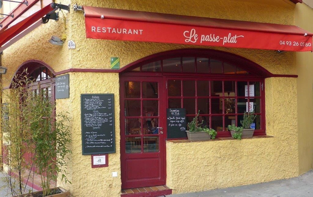 Le Passe Plat Restaurant Nice Passe Plat Bistrot Passe Plat Mur Porteur