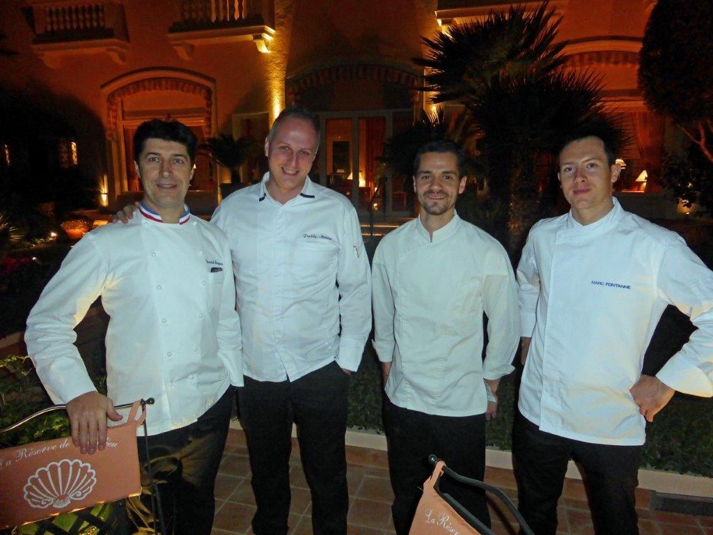 Yannick, Freddy, Benoit et Marc © AA