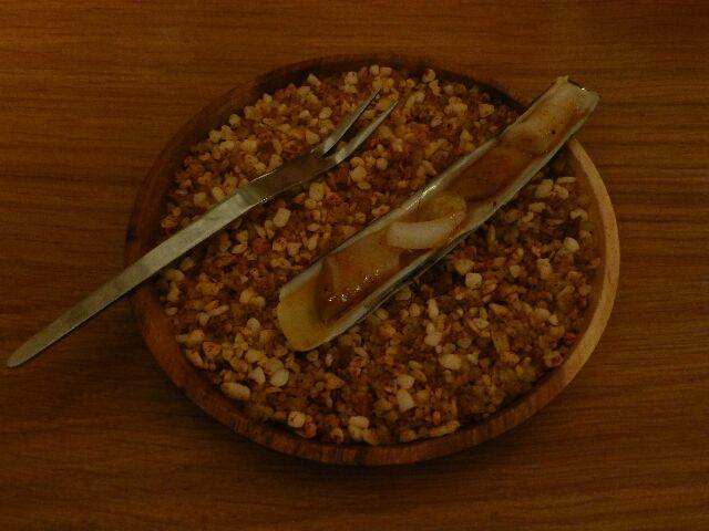 Couteau au piment d'Espelette ©DC