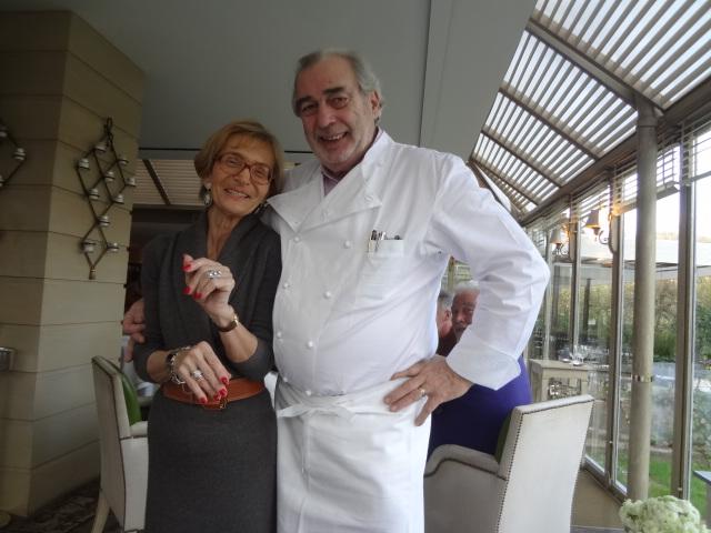 Françoise et Marc Meneau © GP