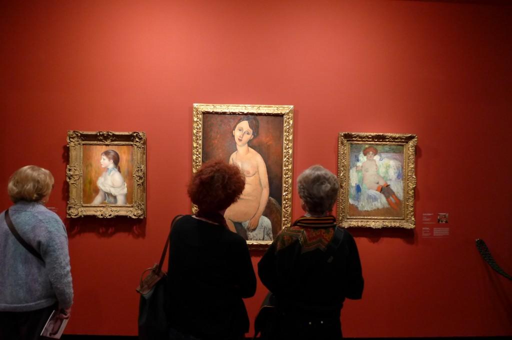 Devant un Modigliani © GP