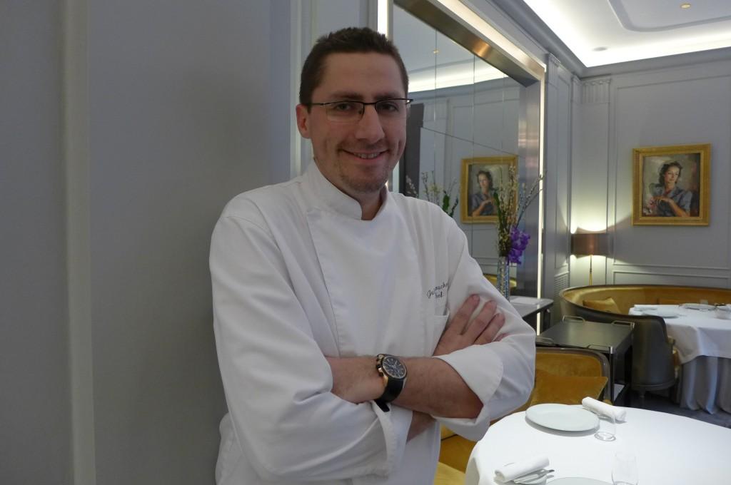 La table du lancaster restaurant paris 8e la gloire de julien roucheteau restaurants - La table du lancaster paris ...