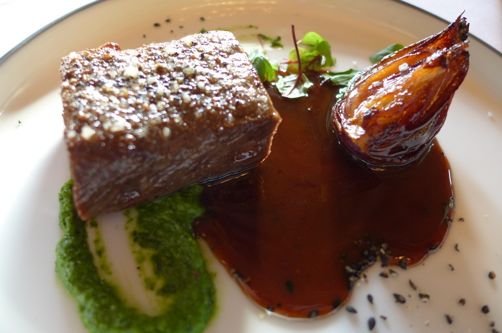 Chevreuil sauce poivrade © GP