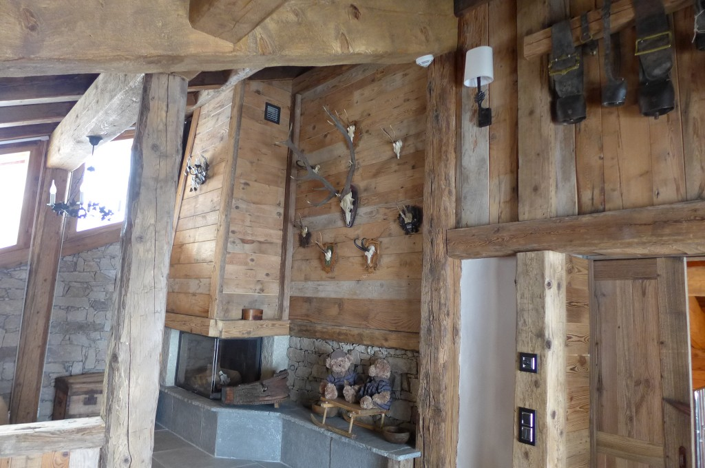Salon cheminée © GP