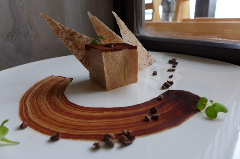 Pressé de foie gras au cacao ©GP