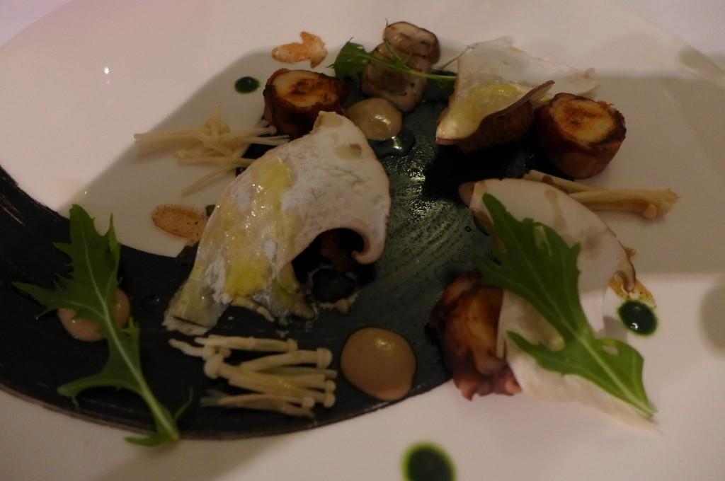 Escargots et poulpe © GP