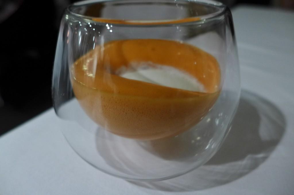Chocolat blanc et carotte © GP