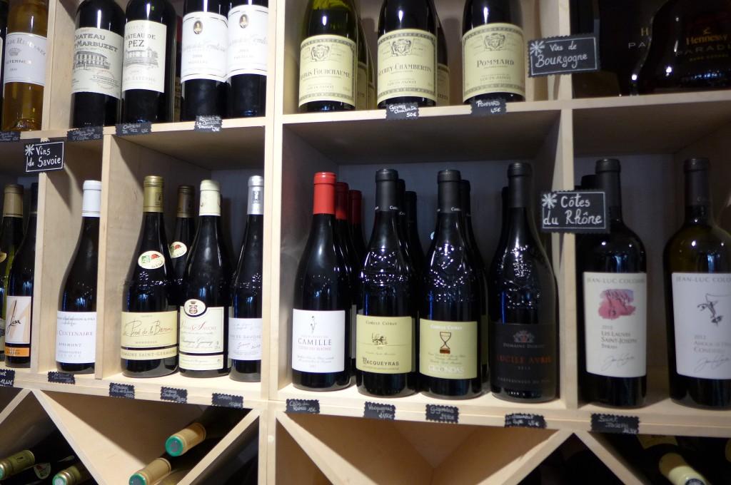 Au rayon vins © GP
