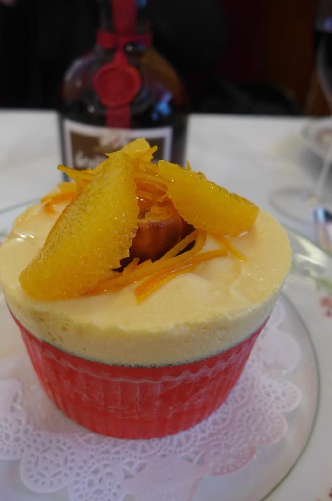 Soufflé glacé aux agrumes © GP