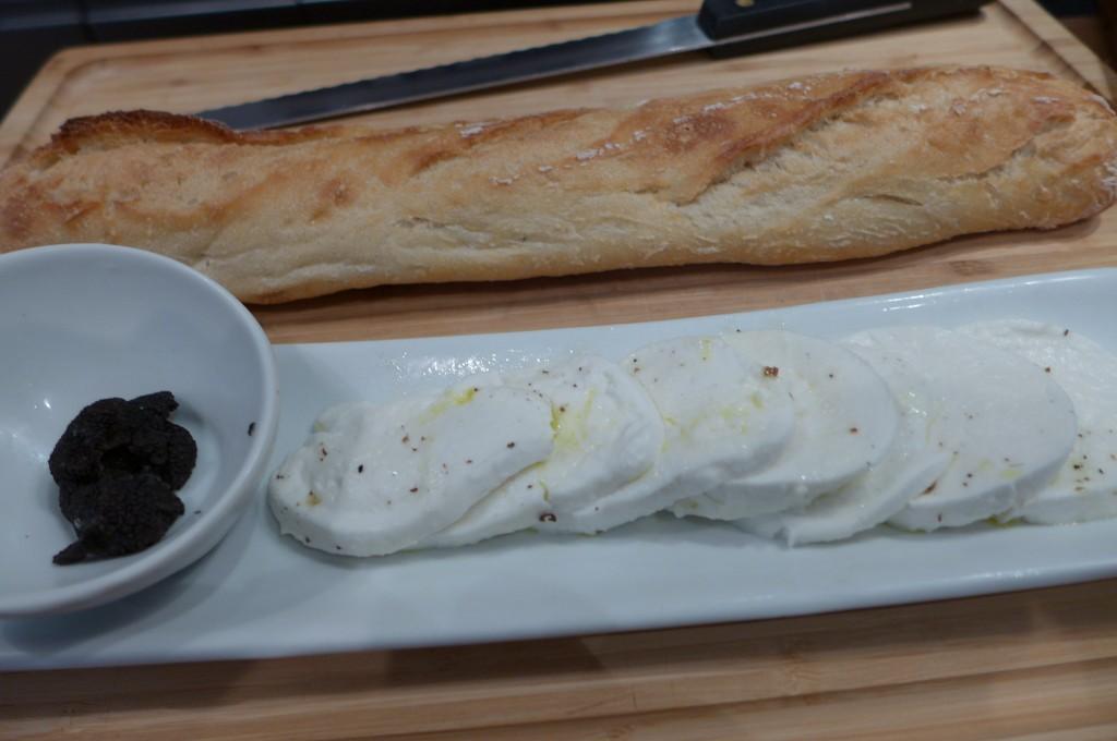 Sandwich, mozzarella et truffe © GP