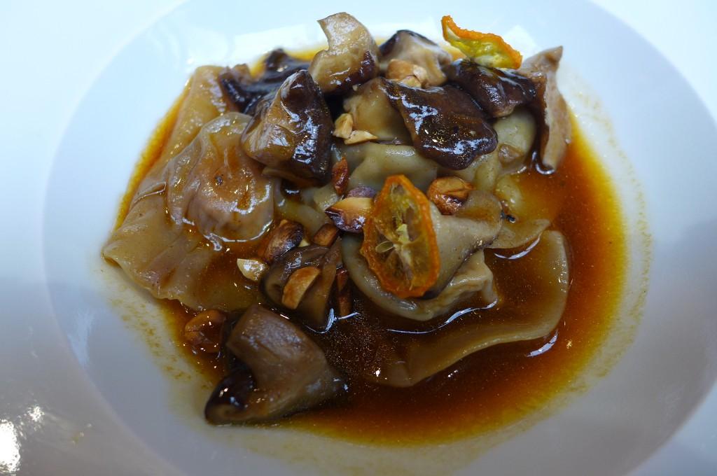 Ravioles de foie gras aux champignons © GP