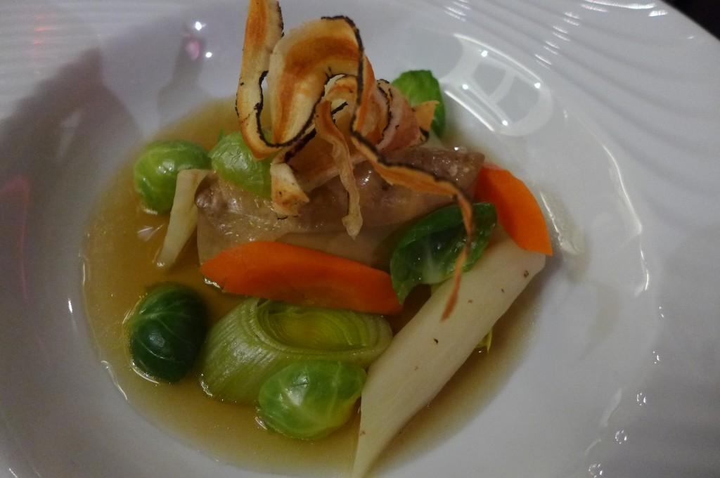 Foie gras en pot au feu © GP
