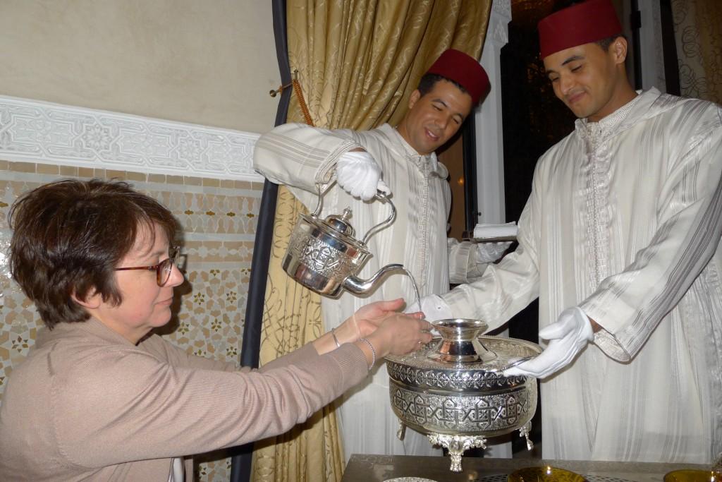Accueil à la marocaine ©JPE