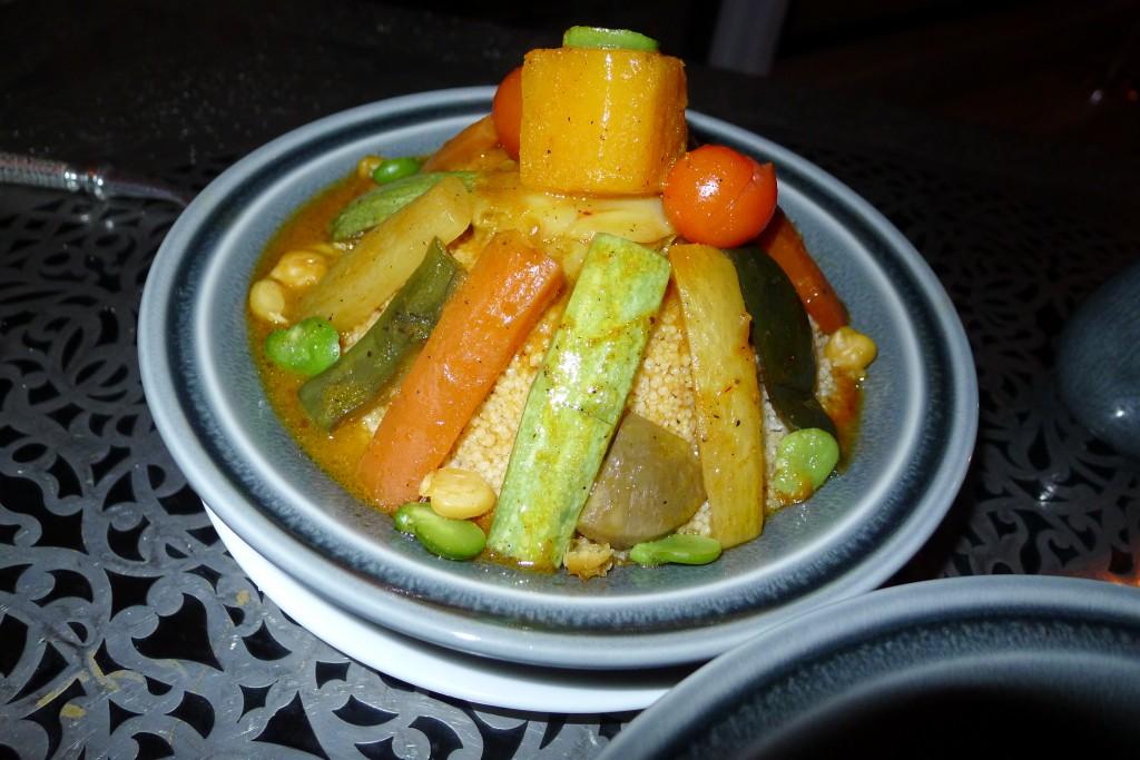 Couscous aux sept légumes © JPE