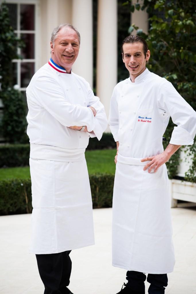 Eric Fréchon & Florian Favario © DR