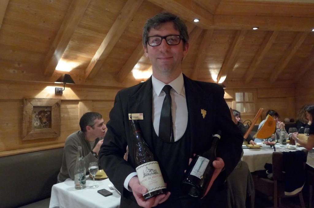 Le service des vins © GP