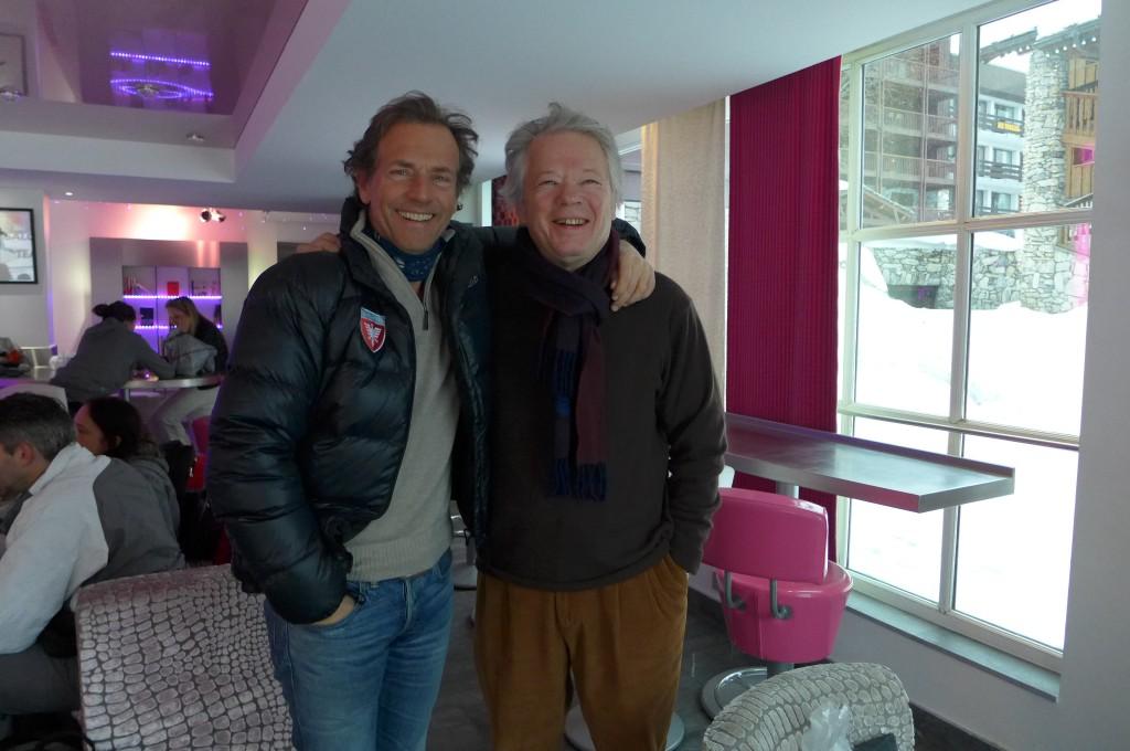 Avec Stéphane Freiss © GP
