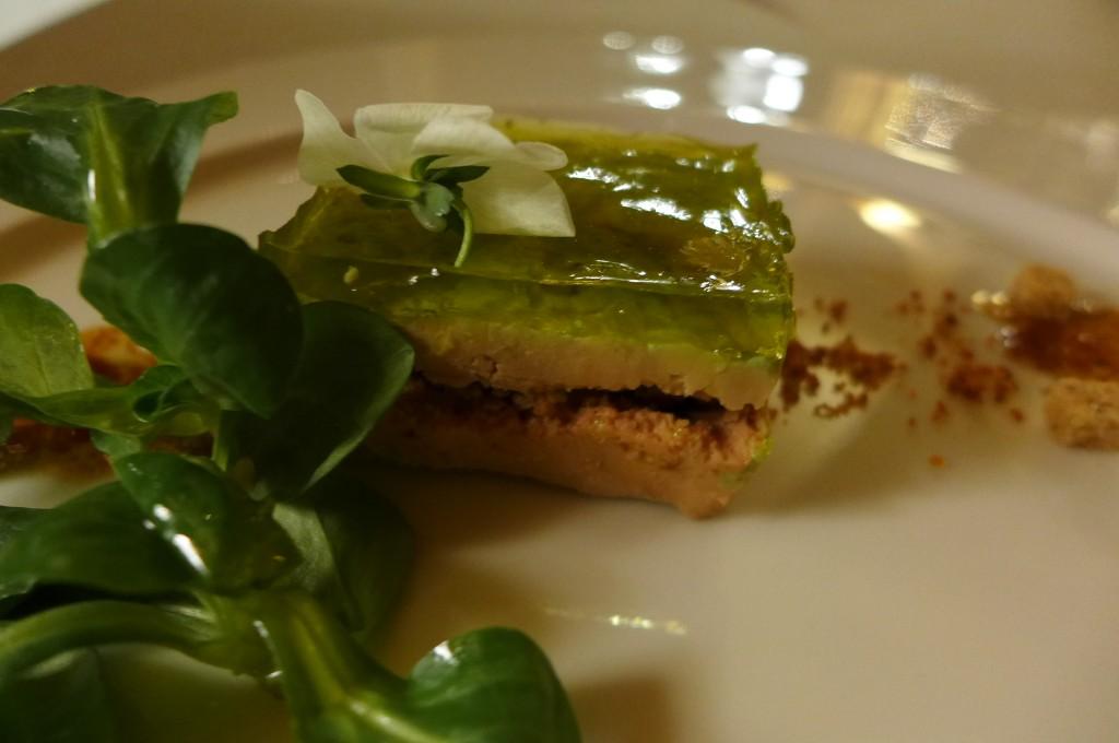 Pressé de foie gras au genépi © GP