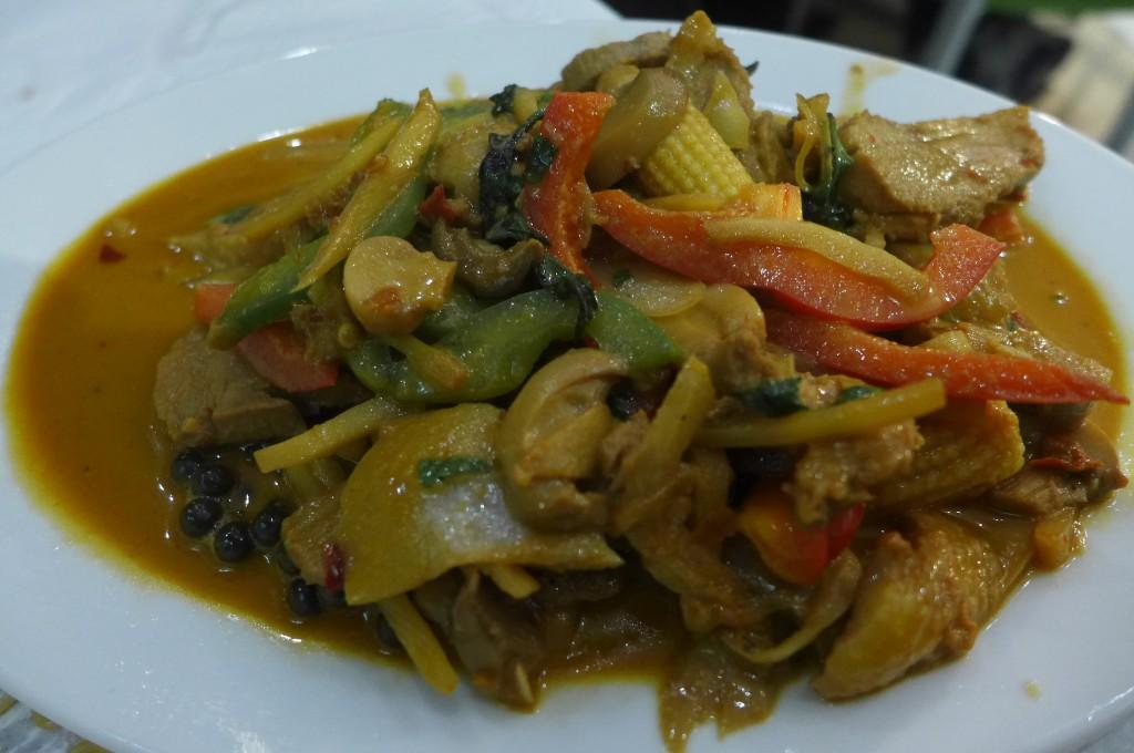 Canard au curry © GP