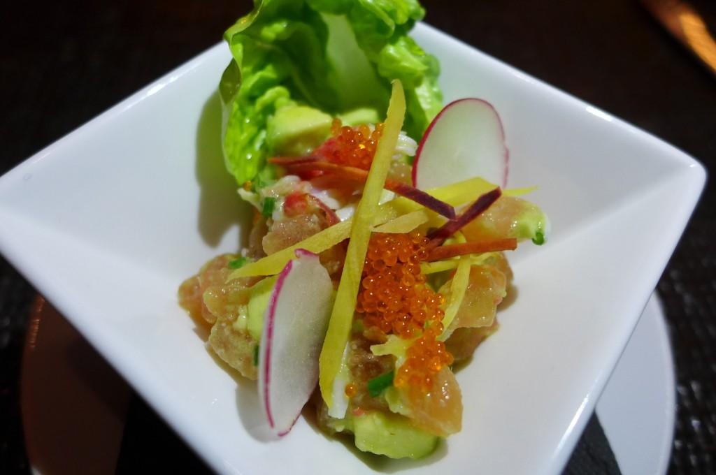 Salade de crabe et avocat © GP