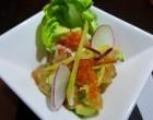 Salade de poulet et papaye © GP