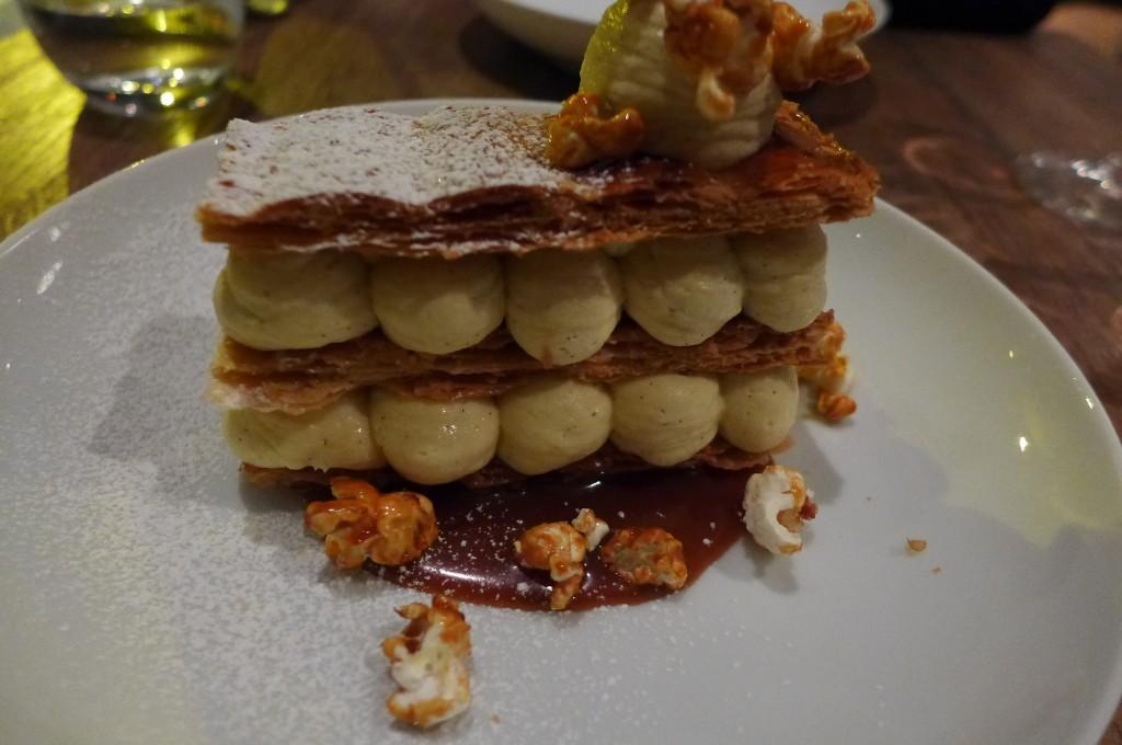 Millefeuille vanille et caramel © GP