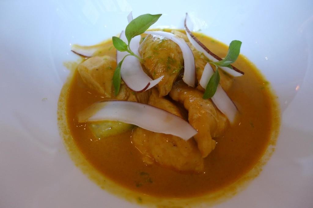 Curry rouge de volaille © GP