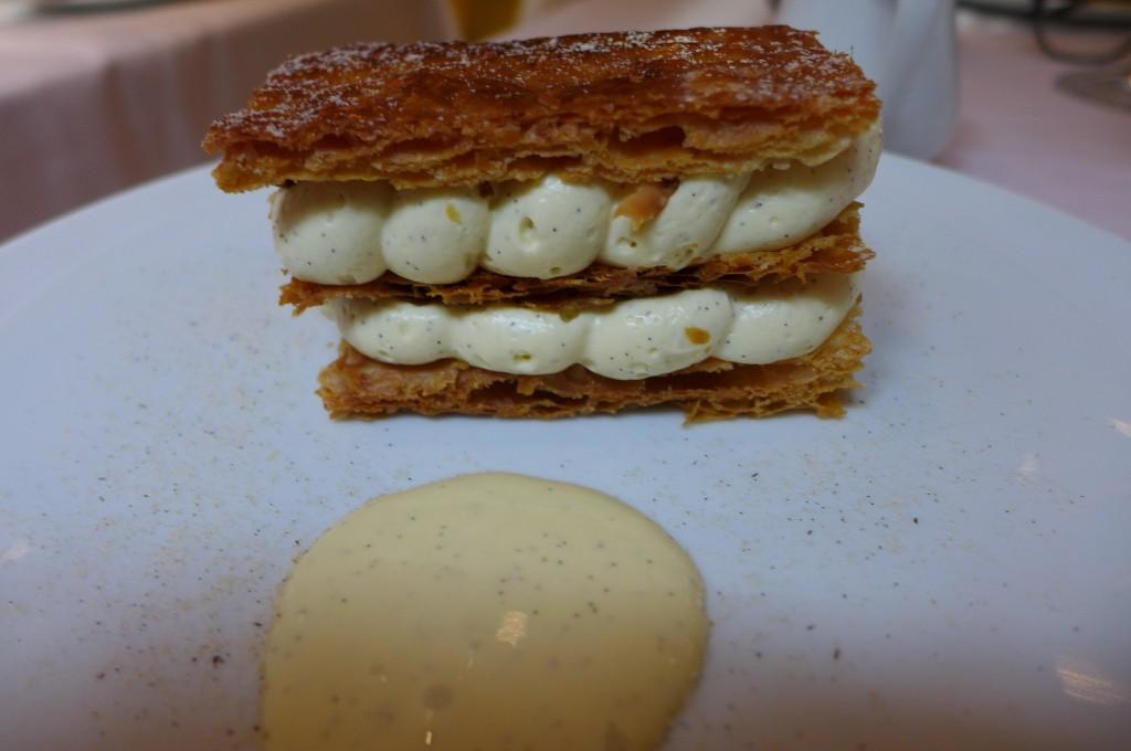Millefeuille vanille et noix de pécan © GP