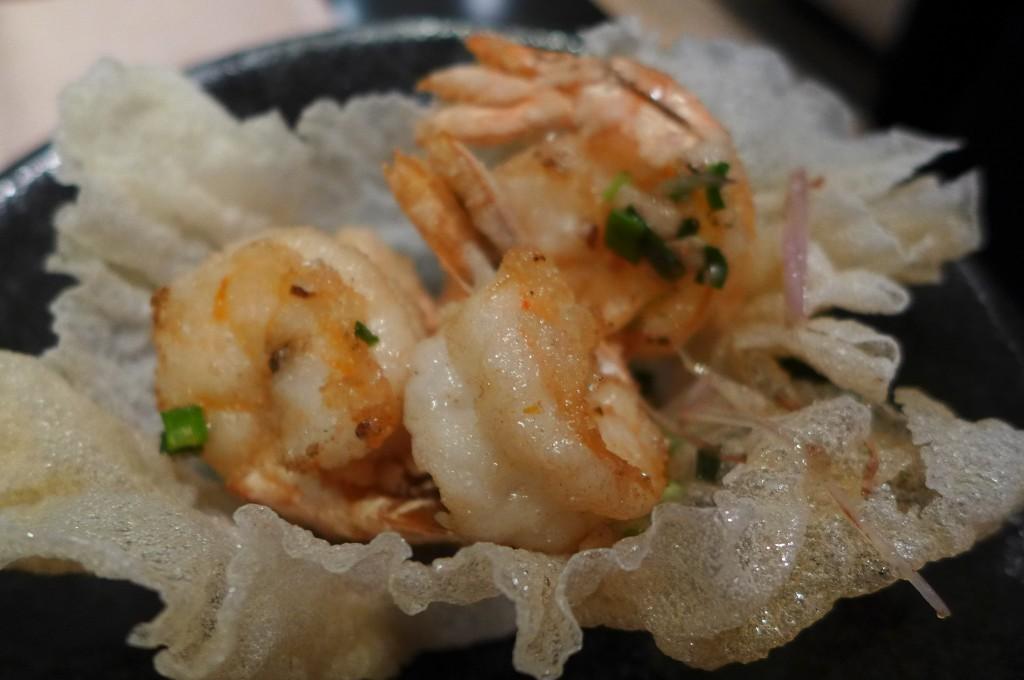 Crevettes poivre et sel ©GP