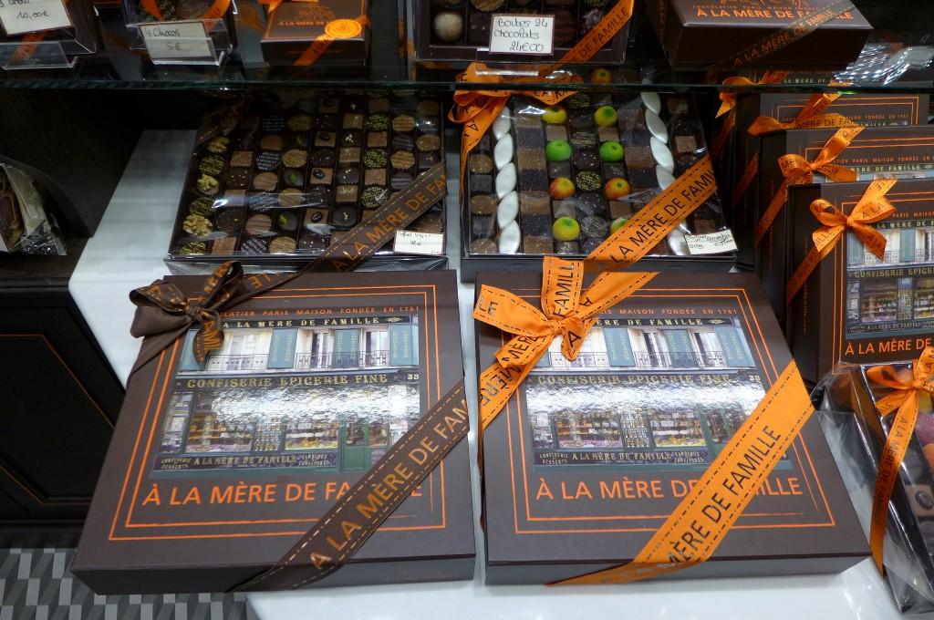 Quelques chocolats © GP