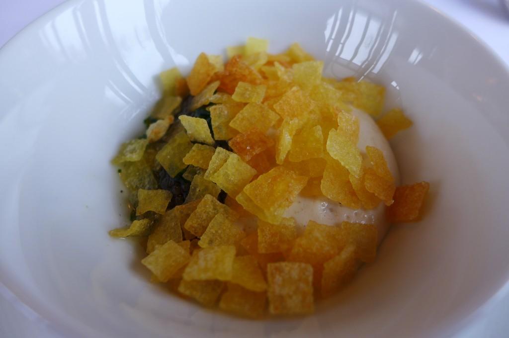 Mousse de moelle et caviar © GP