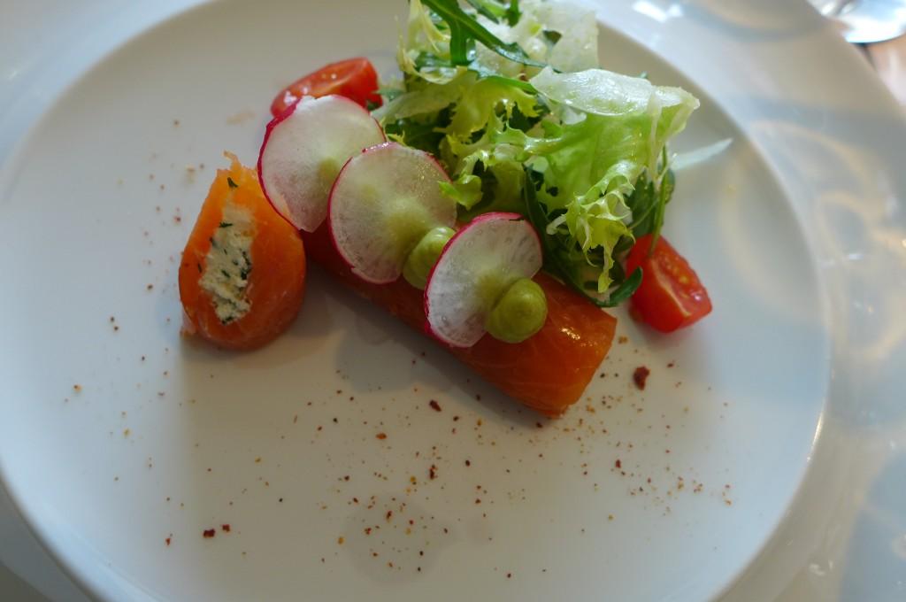 Cannelloni de saumon au brebis © GP