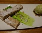 Russe praliné, glace pistache © GP