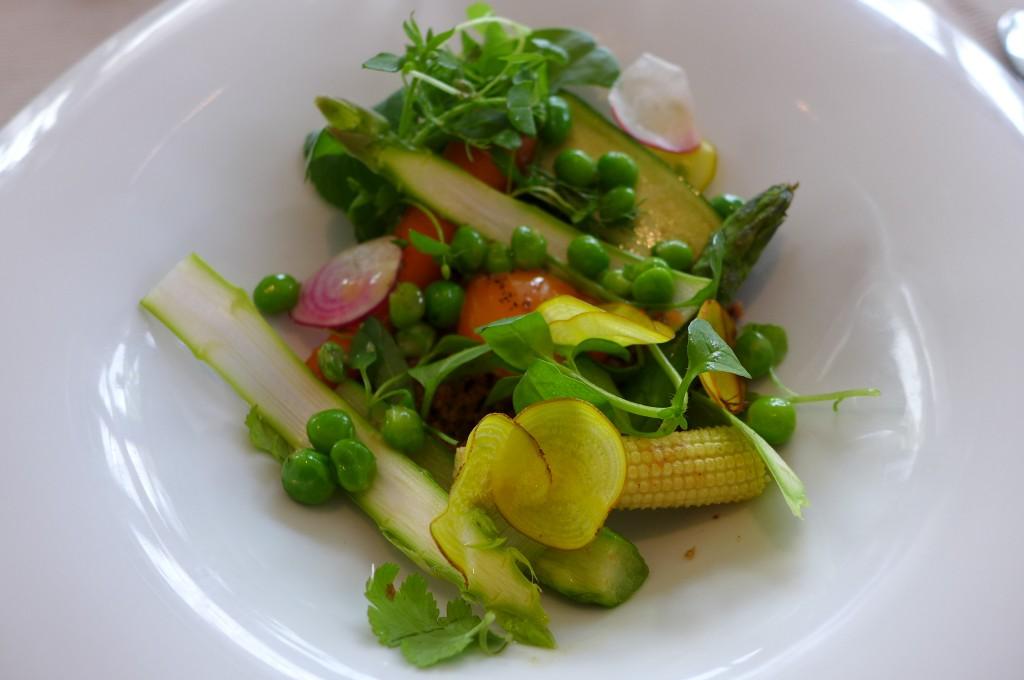 Légumes et oeuf © GP