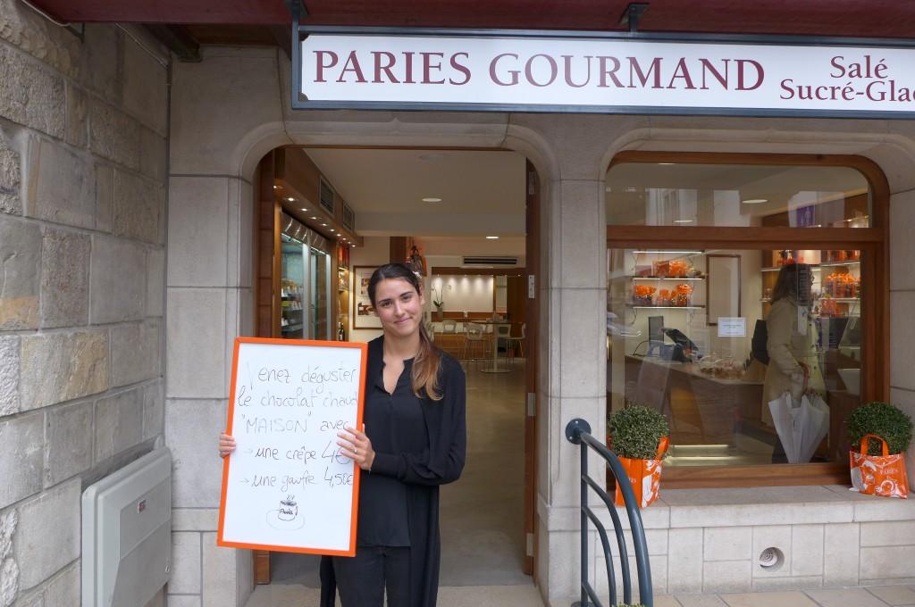 L'accueil chez Pariès Gourmand © GP
