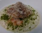 Langoustines et lasagne de brebis © GP