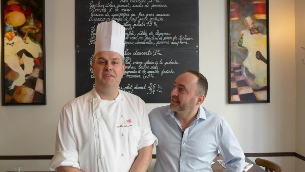 Sébastien Guillo et Yann le Pévédic © GP