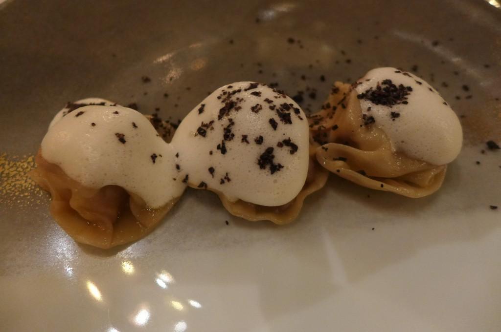 Ravioles de foie gras © GP