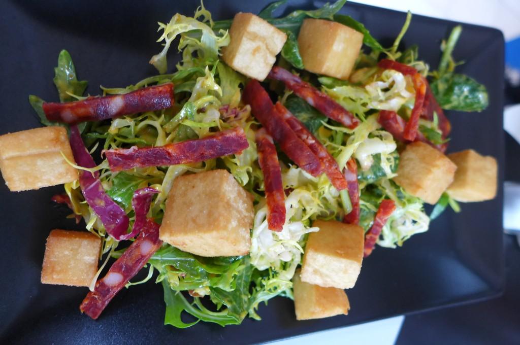 Salade de panisses © GP