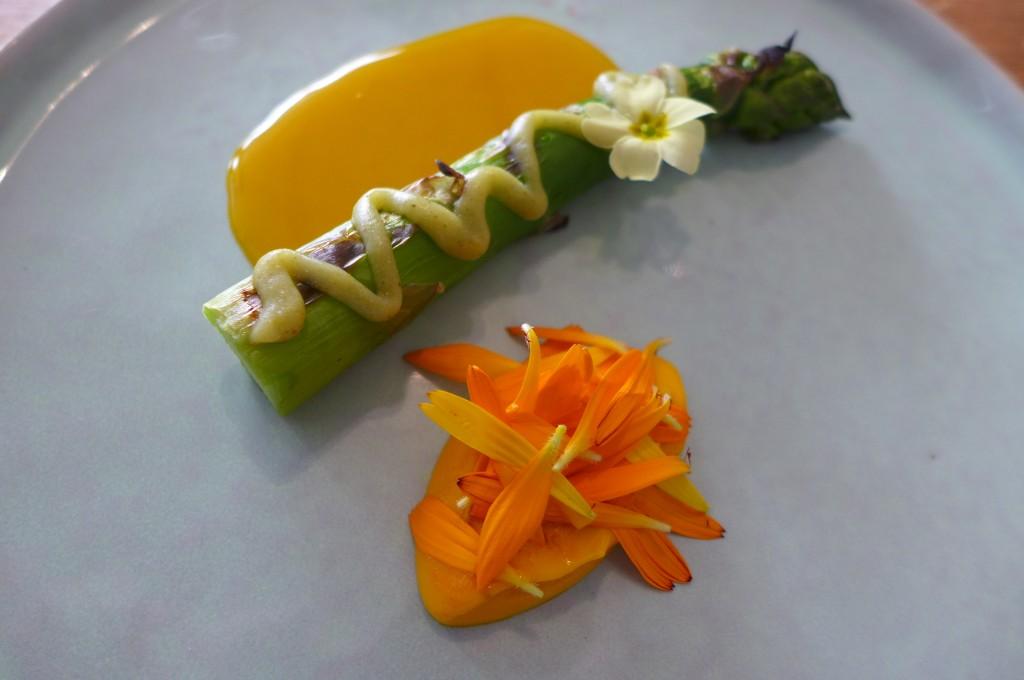 Asperge barbecue condiment mojito © GP