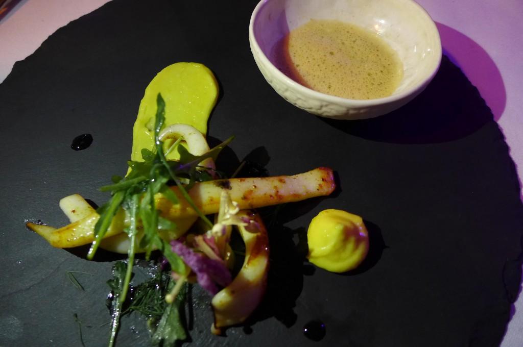 Calamars aux makis de légumes©GP